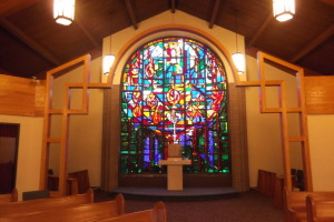 interior stained glass